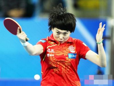李晓霞 又一位乒乓大满贯