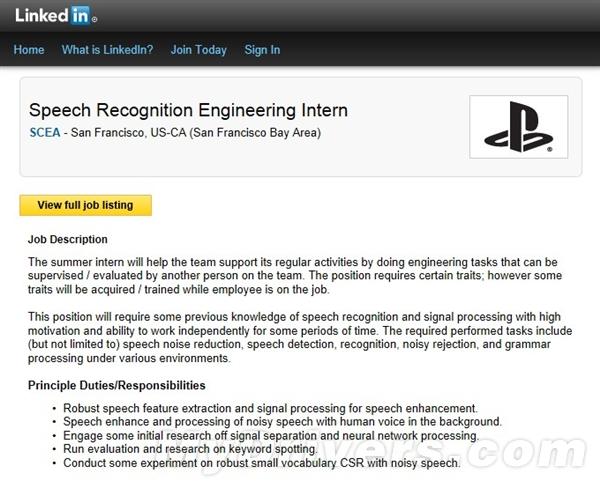 和Xbox卯上了?PS4被曝搭载语音识别技术