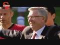 英超视频-弗格森赛后告别 球迷起立鼓掌送爵爷