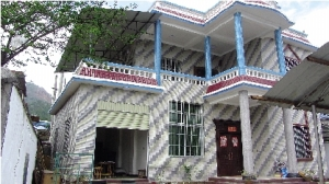 畹町社区矫正人员满应修建的新房子
