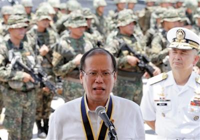 21日,菲律宾总统阿基诺三世宣布拨款18亿美元,用以提高军队保卫领海的能力。
