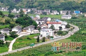 南川区南平镇永安村,当地村民靠发展农家乐致富 资料图