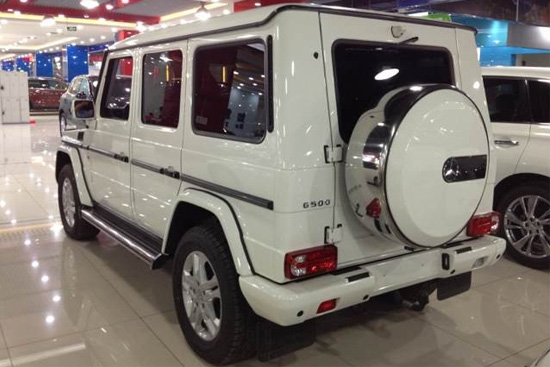 [天津港]2013款奔驰G500到港 直降10万元
