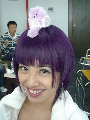 不过这种刘海发型还是蛮适合蔡依林的图片