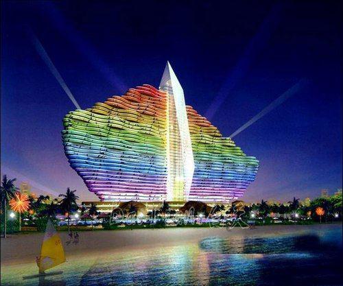 中国首家七星级标准酒店——红树林费尔蒙酒店已正式落户三亚海棠湾