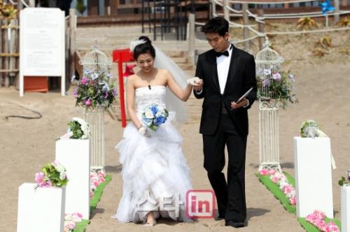 2013.04.26 我们结婚了世界版ep4 鬼泽夫妇拍摄唯美婚纱照