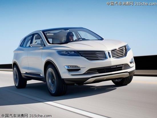 有望明年进口 林肯MKC量产版车型曝光高清图片