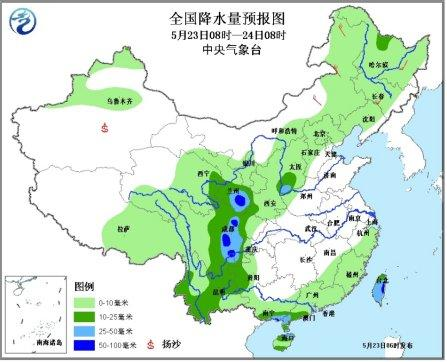未来三天黄淮江汉等地将现强降雨 庐山灾区有雨