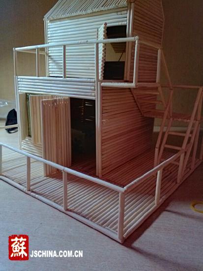 创意小木屋制作方法