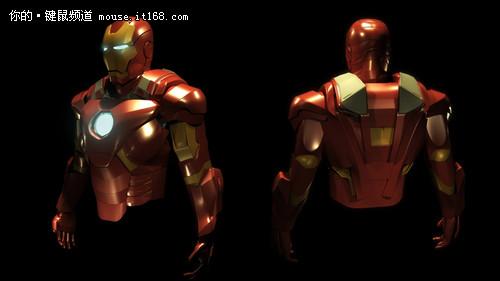 钢铁侠战衣设计图 自制钢铁侠战衣 钢铁侠战衣进化史 高清图片
