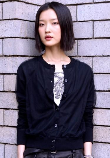 杜鹃接受搜狐娱乐专访现场。