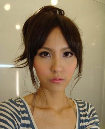 台湾女神素颜照 妆前妆后谁最美