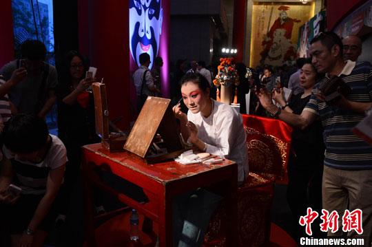 纪录片《京剧》举行首映式 现场上演梨园大戏