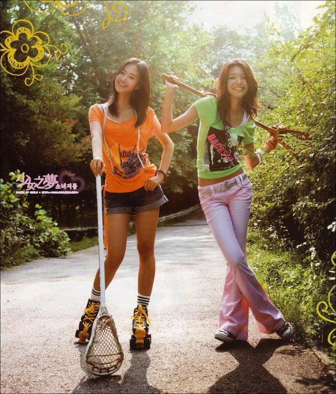韩国少女时代侑莉运动写真