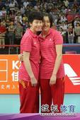 图文:精英赛中国女排夺冠 李静刘晓彤