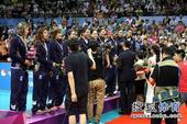 图文:精英赛中国女排夺冠 记者不少