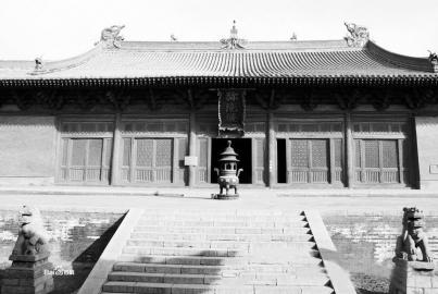 朔州崇福寺 资料图