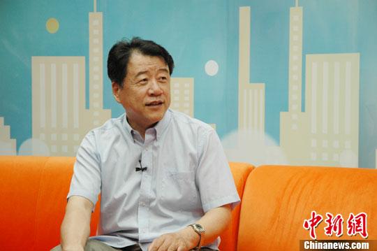 中国国际问题研究所副研究员时永明解读金正恩特使访华。中新网记者 张龙云 摄