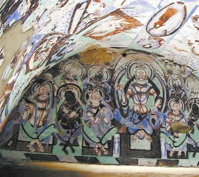 克孜尔千佛洞壁画