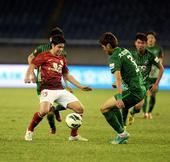 中超图:杭州绿城0-1广州恒大 孔卡比赛中控球
