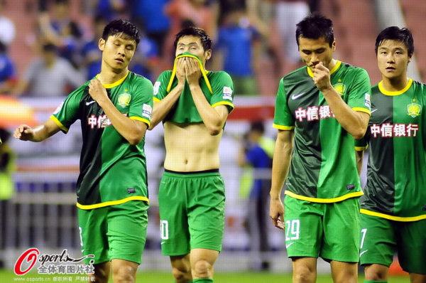 中超图:申花1-0国安 御林军郁闷输球