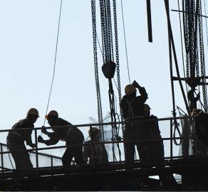 中环 太行路 太原市/排水、桥涵、电力、配套管网等工程正在进行。