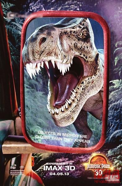 《侏罗纪公园3d》海报