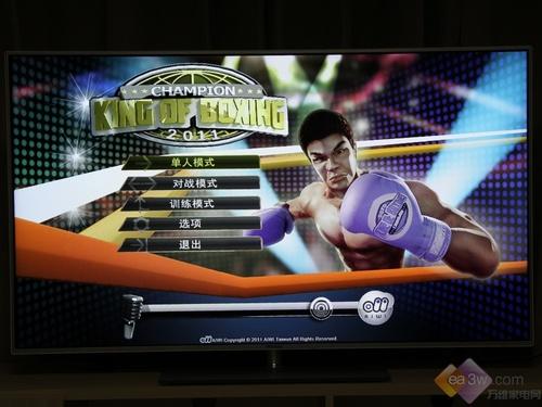 《拳击之王》游戏界面