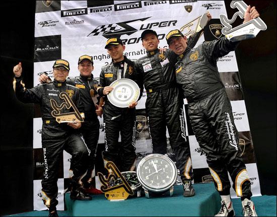 第二组冠亚季军车队