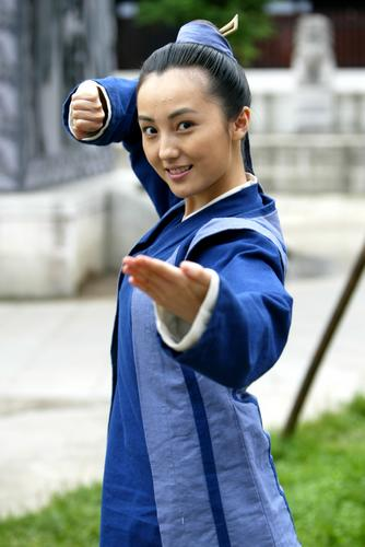 《武林外史》中的百灵,娇俏可爱,又善解人意,一直情系熊猫儿.