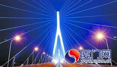 厦漳大桥通车仪式明日上午10时将在海门岛举