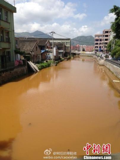 """图为:瑞安塘下镇海安社区的""""黄河""""。 资料图片"""
