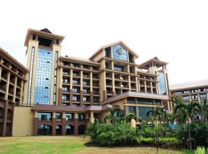 老挝万象亚欧峰会大酒店 (云南建工集团 供图)图片