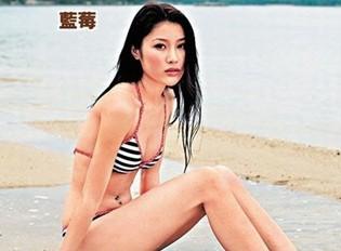 香港女星刘俐 翻摄自网络。来源 台湾今日新闻网