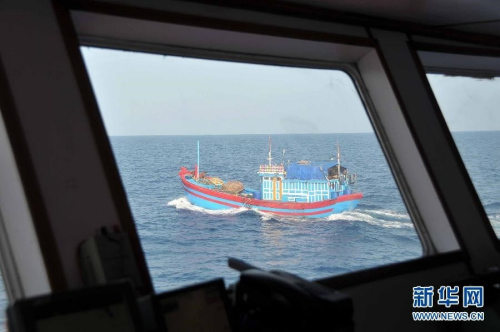 越南称其渔船在西沙遭18艘中国船包围并撞击