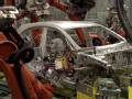 领略奔驰A级工厂全机械化制作的惊人场面