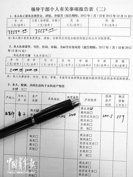 蔡先勃 大连/新疆网讯5月29日,蔡先勃向记者提供他于2013年1月向组织提交...