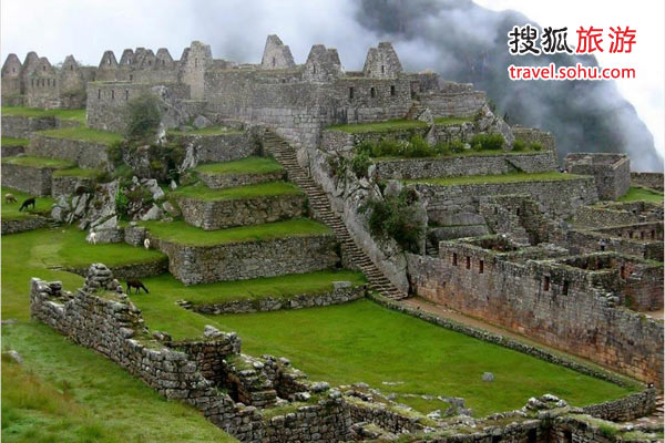 秘鲁马丘比丘古城