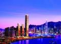 走在香港的边上