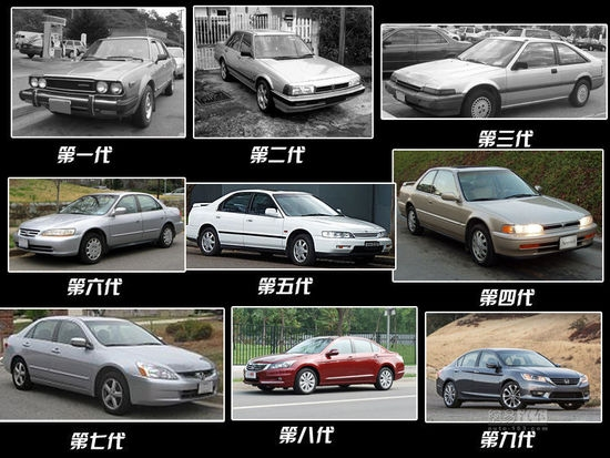 第一代本田雅阁诞生于1976年,当时的雅阁是一款轴距只有2380mm的掀背车型,不过这却开启了本田中级车的一段传奇历史。第二代雅阁开始进入北美市场,成为美国人钟爱的车型,并由此在其他市场打开局面。时至今日,雅阁已经国产了第六、七、八代车型,而第九代雅阁(2013款美版车型)也已经在诸如北美的海外市场粉墨登场。
