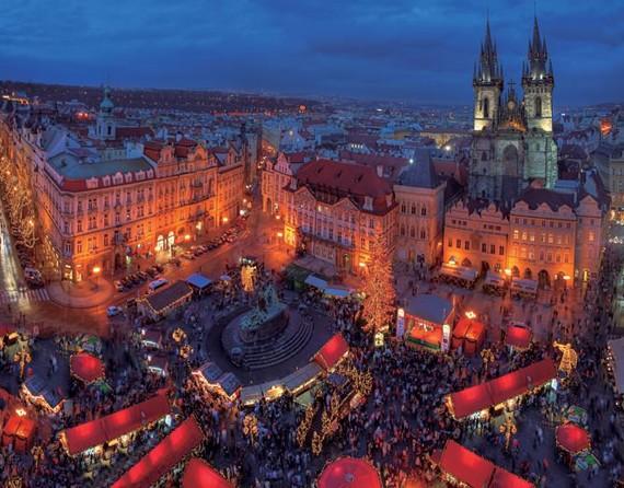 捷克布拉格广场