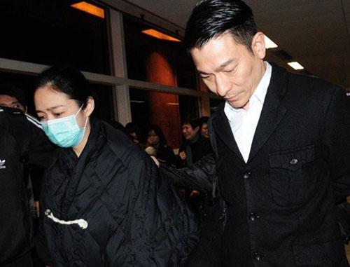 刘德华与妻子朱丽倩(资料图)