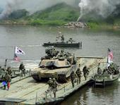 美韩公开三八线附近联合军演秘照 近十年来首次