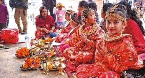 尼泊尔尼瓦尔人:探秘没有寡妇的民族(组图)