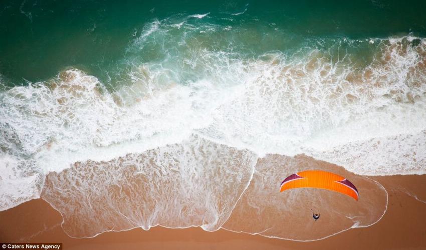 美国跳伞摄影师高空拍摄出世间最壮美的风景(高清组图