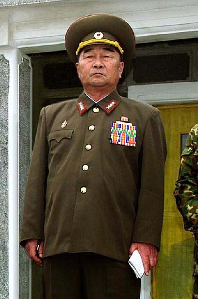 朝鲜总参谋长金格植/资料图片