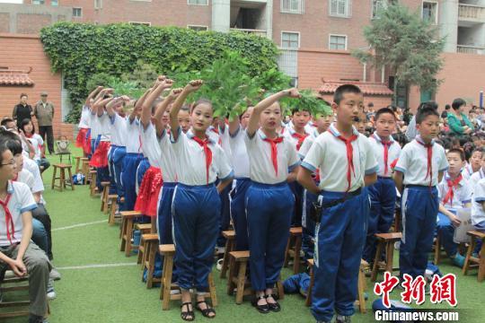 """兰州小学生""""我的中国梦""""活动"""