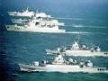 """中国海军三大舰队""""亮剑""""南海军演"""