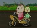 18、儿童骑车要遵守交通规则