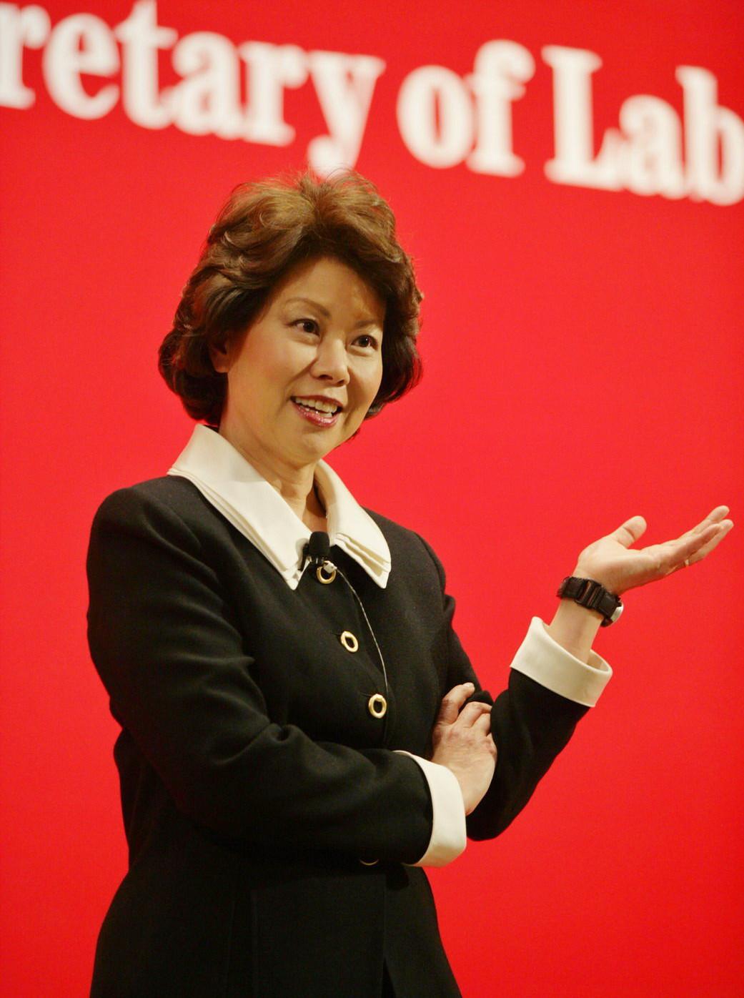 美国劳工部前部长、美籍华裔赵小兰。